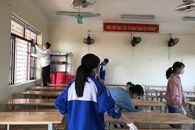 Quế Võ sẵn sàng đón học sinh khối lớp 8 và lớp 9 đi học trở lại