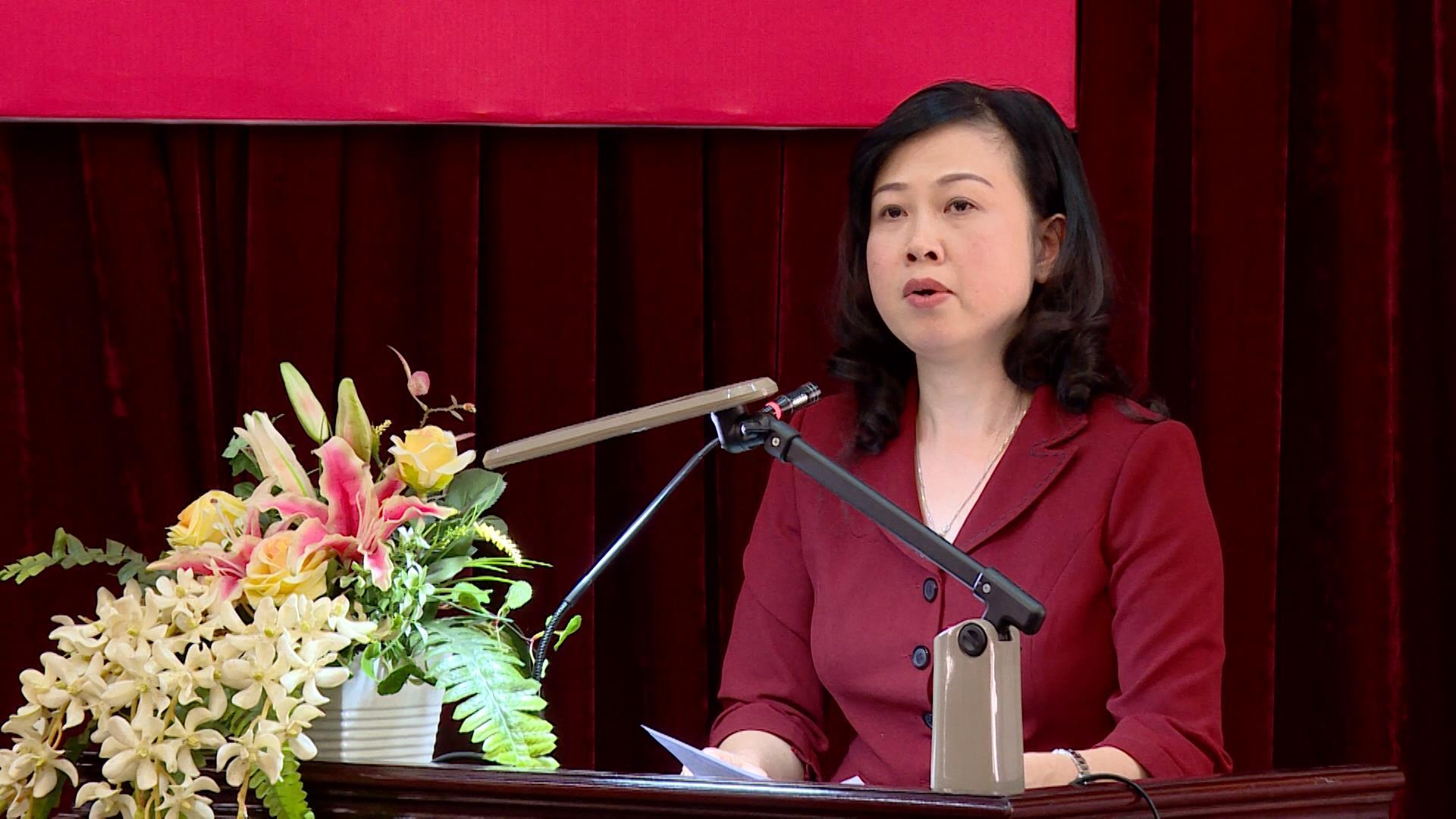 Hội nghị trực tuyến thông báo kết quả Hội nghị lần thứ 12 Ban Chấp hành Trung ương Đảng (khóa XII)