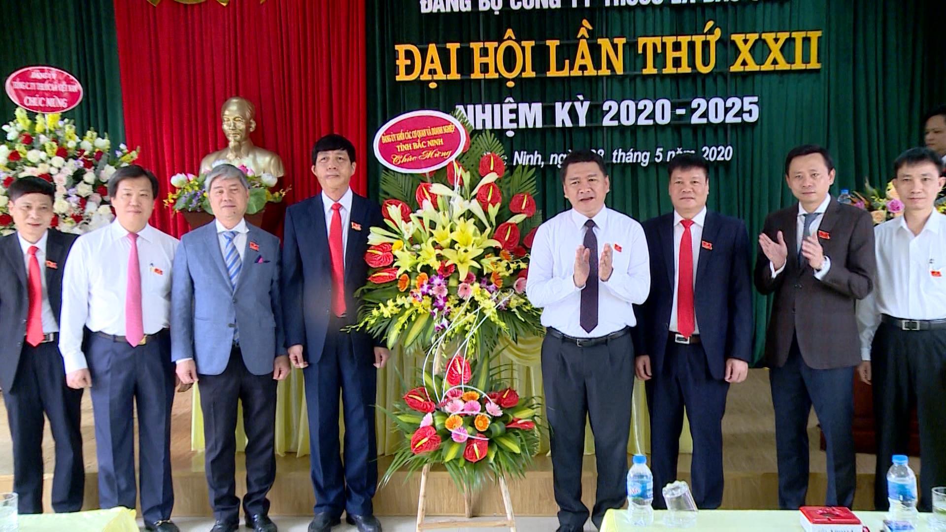 Đại hội Đảng bộ Công ty Thuốc lá Bắc Sơn, nhiệm kỳ 2020-2025