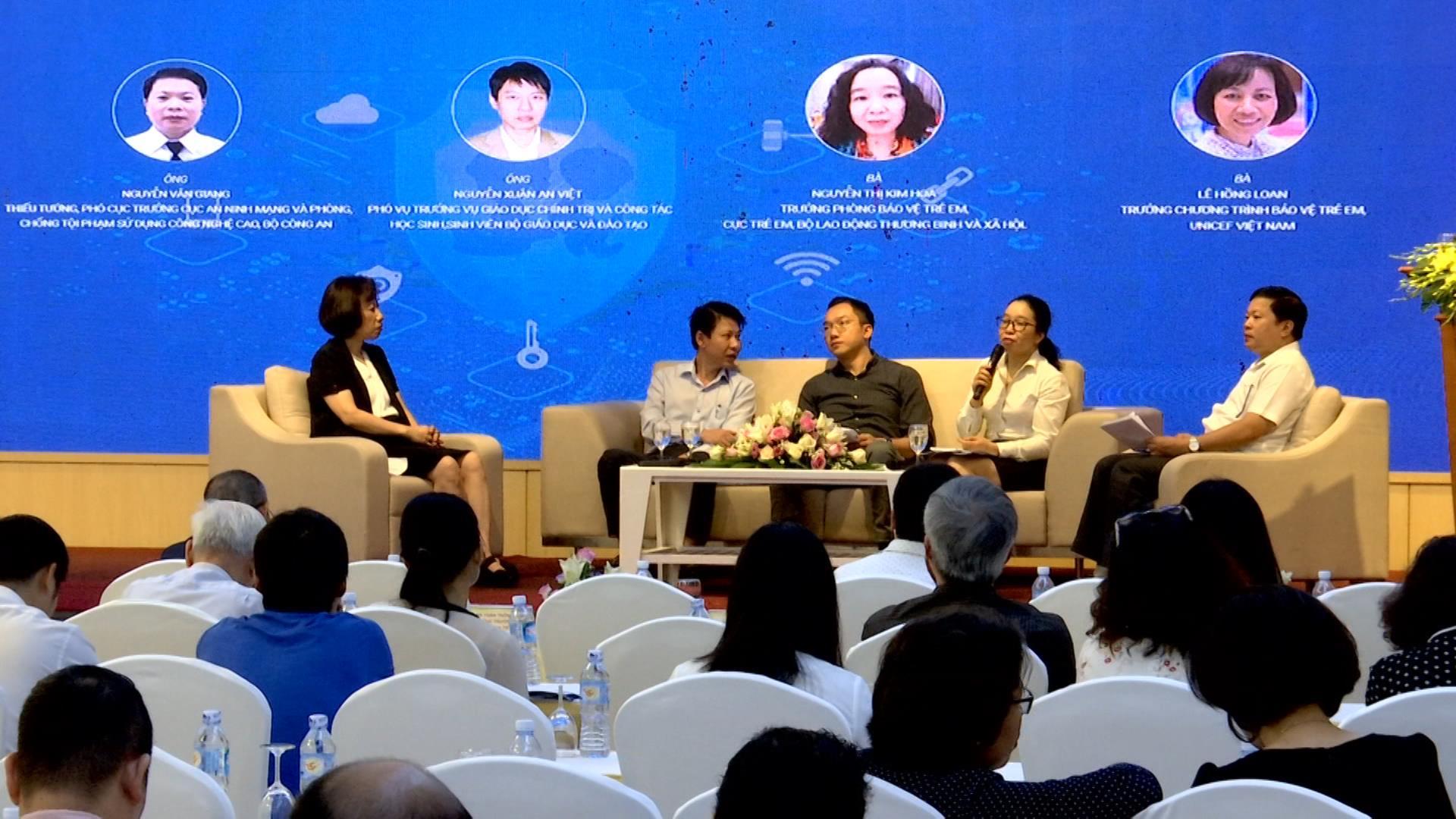 """Hội thảo đóng góp ý kiến xây dựng Đề án """"Bảo vệ và hỗ trợ trẻ em tương tác lành mạnh, sáng tạo trên môi trường mạng"""" giai đoạn 2020-2025"""