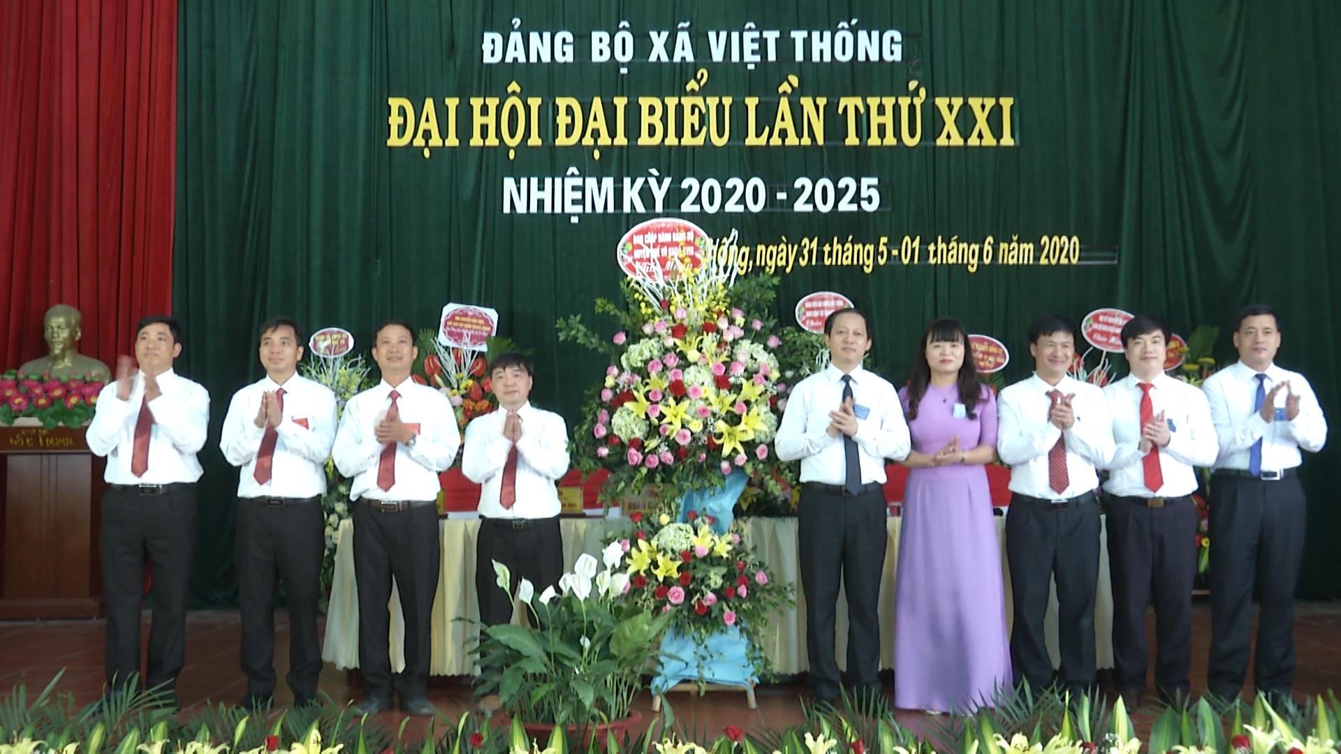 Đại hội Đảng bộ xã Việt Thống lần thứ XXI, nhiệm kỳ 2020-2025