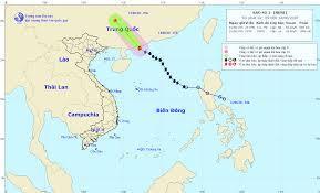Tin bão trên Biển Đông (Cơn bão số 1)