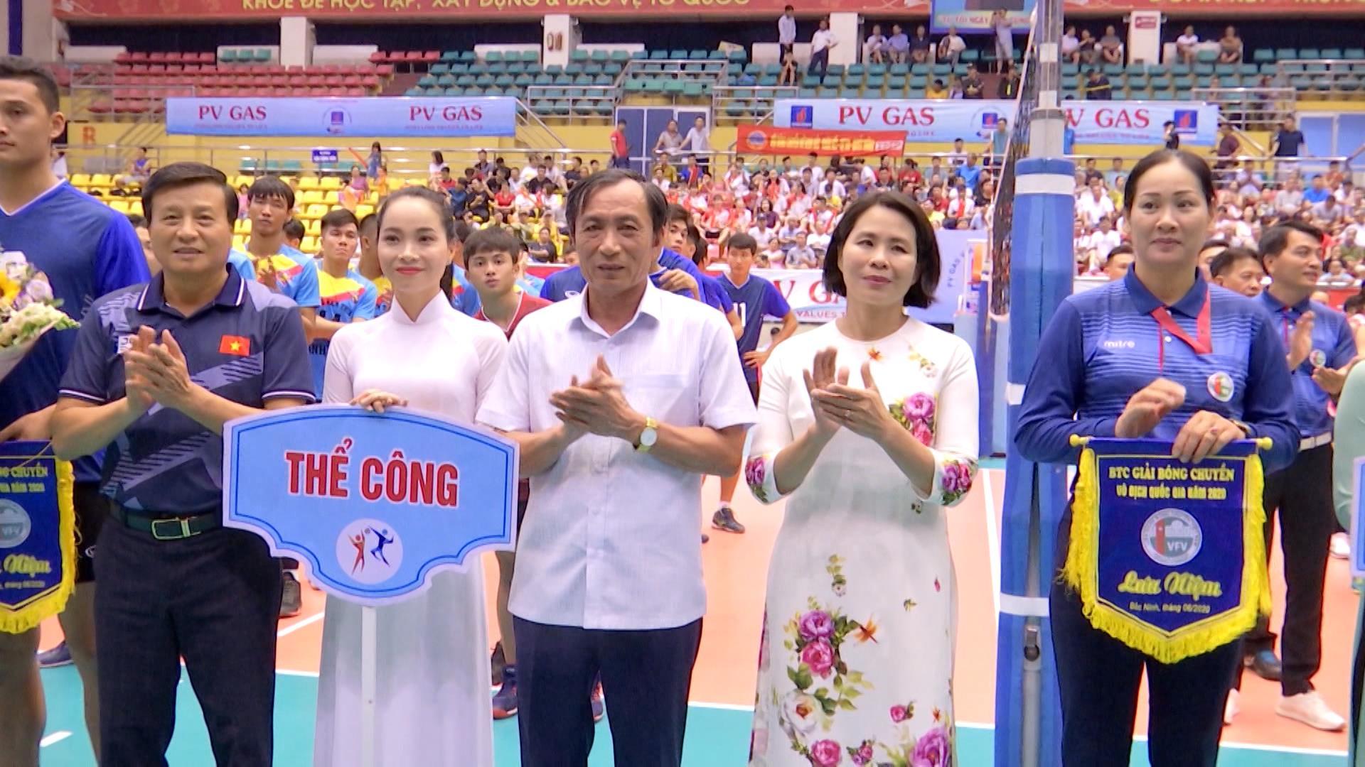 Khai mạc Giải bóng chuyền vô địch quốc gia năm 2020