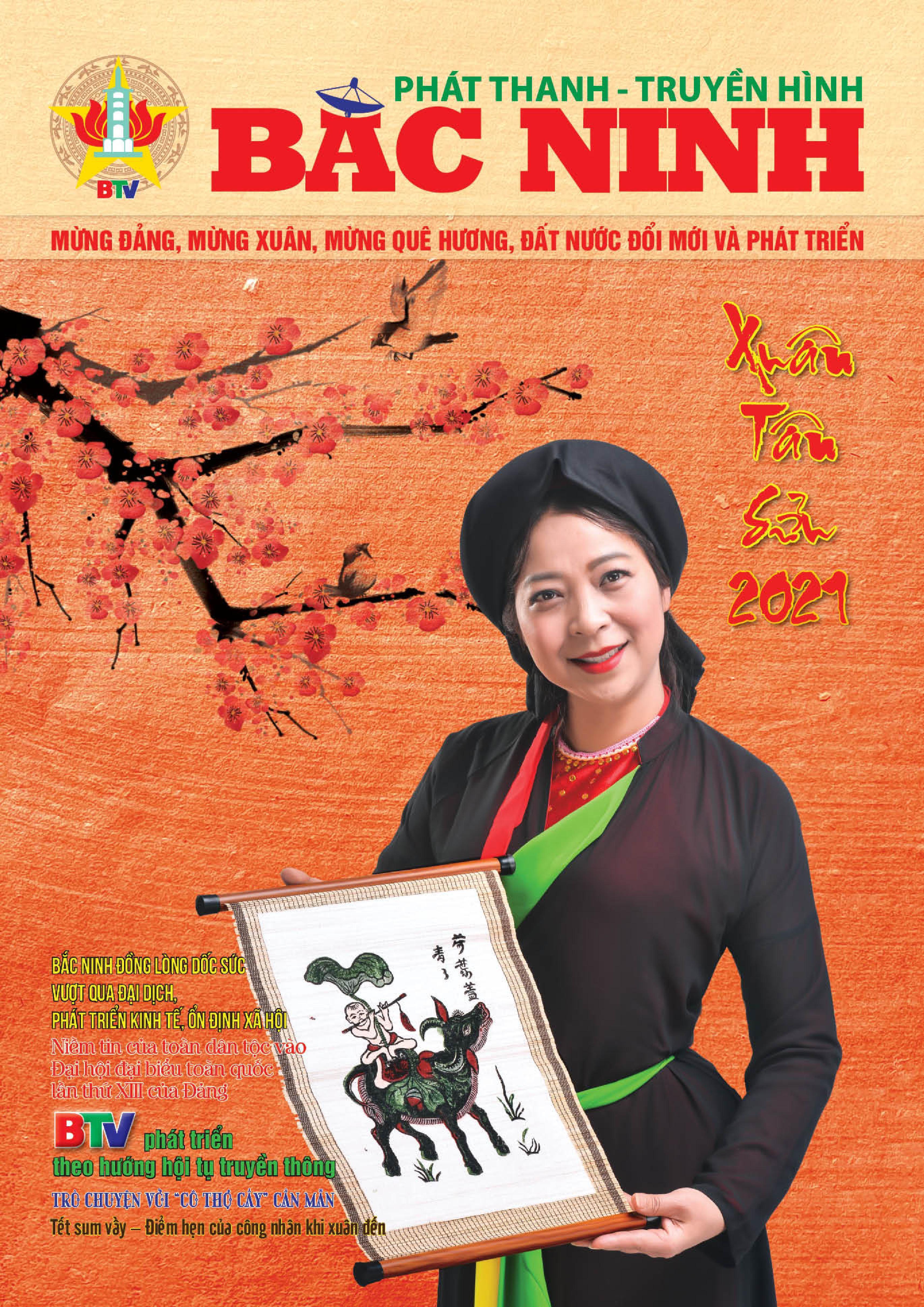 Đặc san Phát thanh - Truyền hình Bắc Ninh. Số Chào mừng 95 năm ngày Báo chí Cách mạng Việt Nam