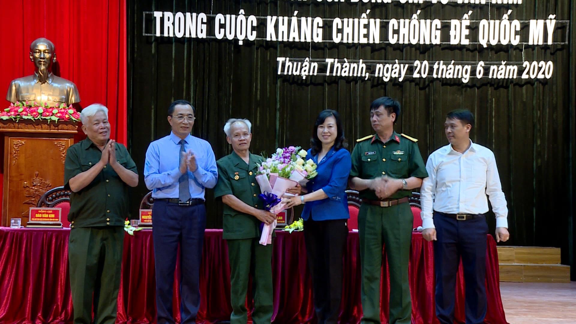 Hội thảo về thành tích của đồng chí Vũ Văn Kim trong kháng chiến chống Mỹ