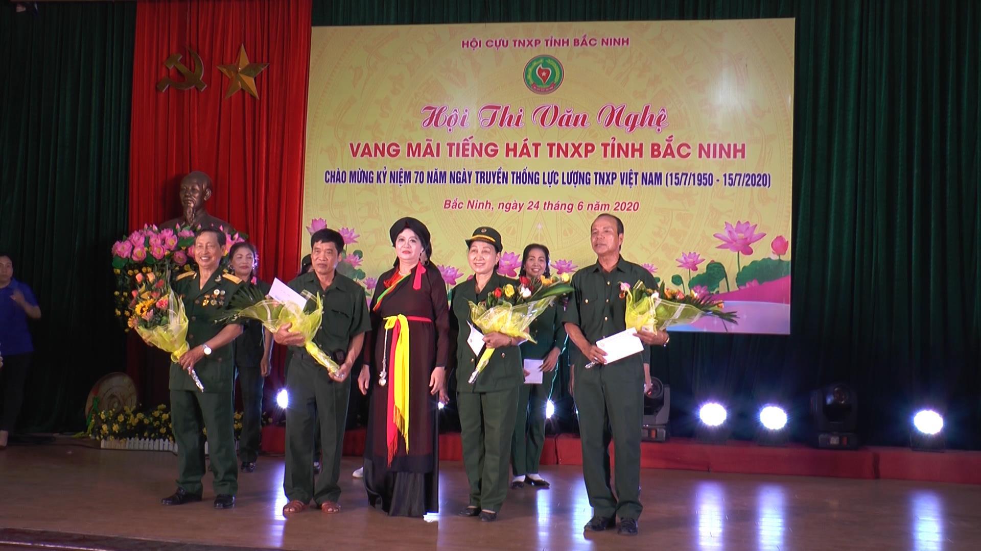 """Hội thi văn nghệ """"Vang mãi tiếng hát Thanh niên xung phong tỉnh Bắc Ninh"""""""