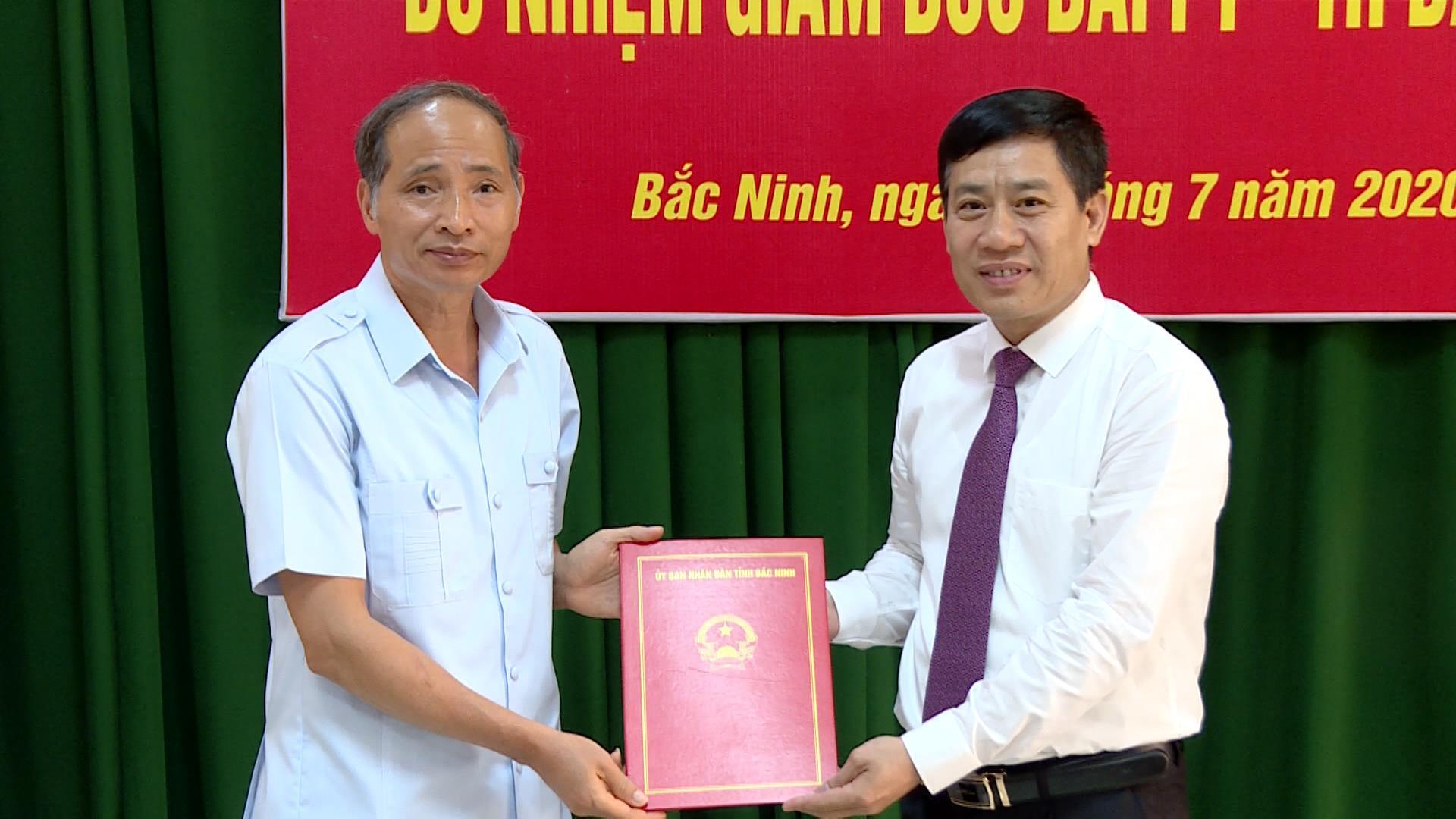 Trao Quyết định Bổ nhiệm Giám đốc Đài Phát thanh và Truyền hình Bắc Ninh