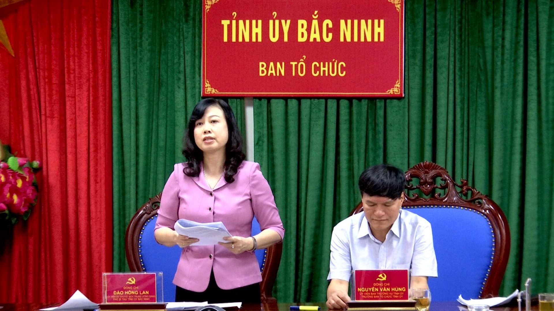 Hội nghị trực tuyến góp ý vào Dự thảo quy chế bầu cử Đại hội Đại biểu toàn quốc lần thứ XIII của Đảng