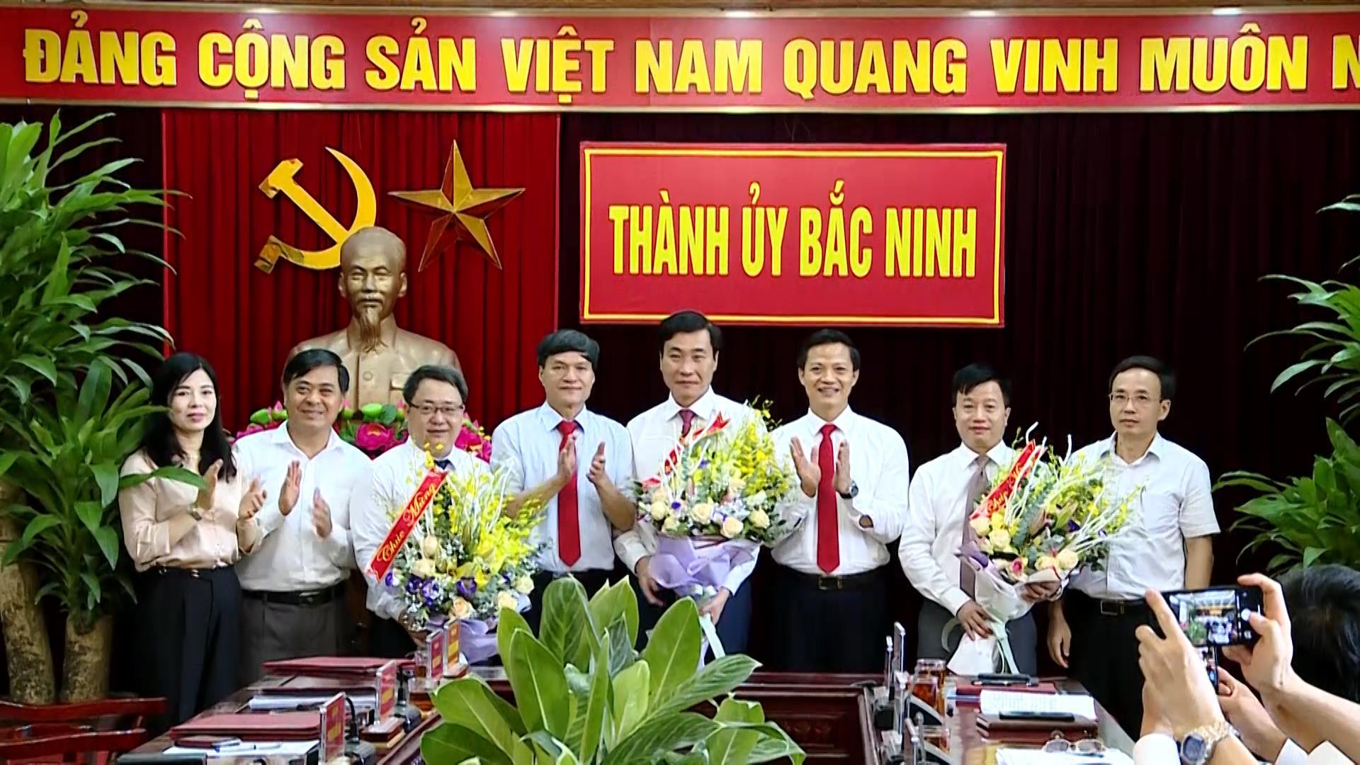 Thành ủy Bắc Ninh công bố Nghị quyết, Quyết định của tỉnh về công tác cán bộ