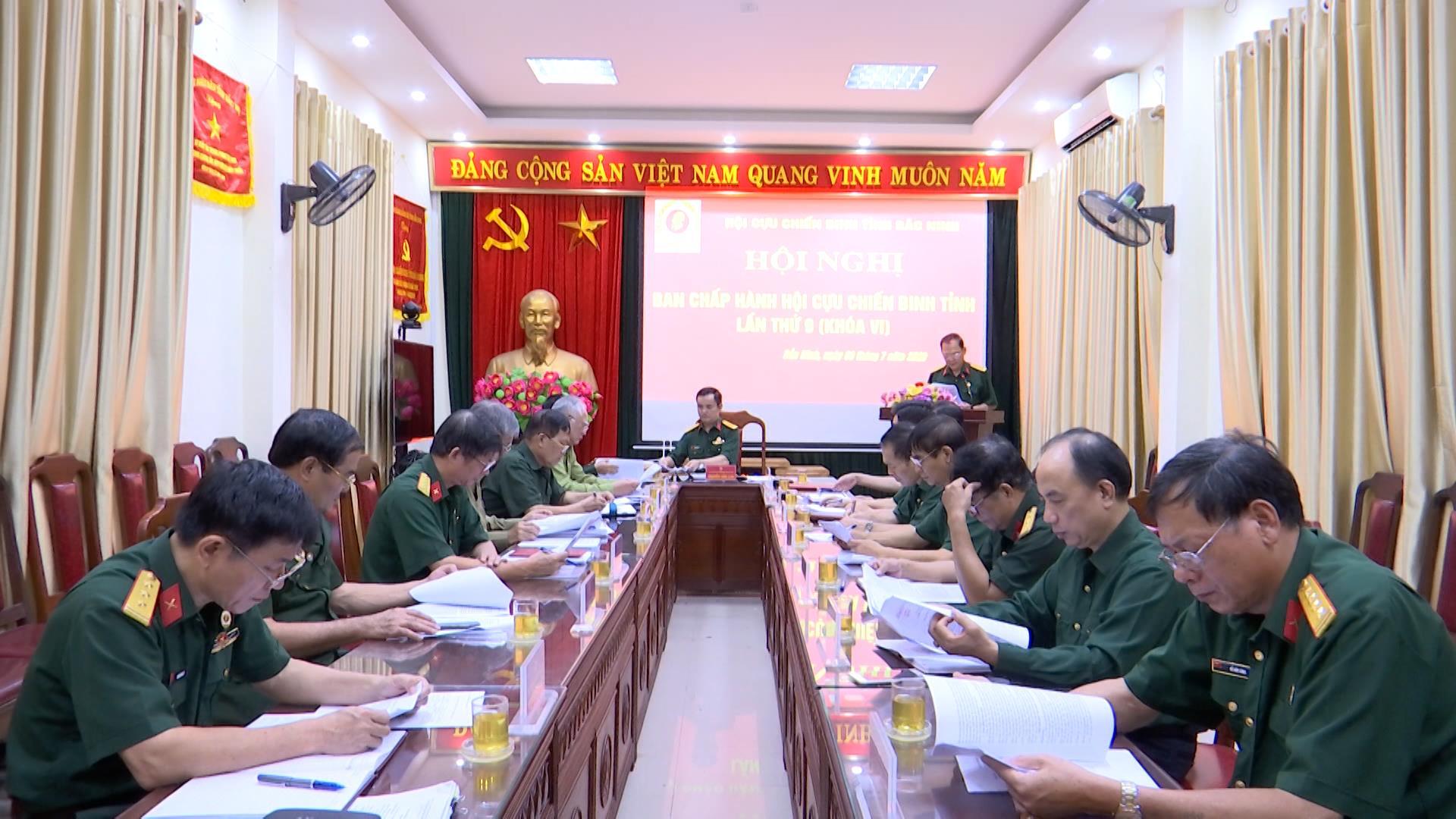 Hội Cựu chiến binh tỉnh triển khai nhiệm vụ 6 tháng cuối năm 2020