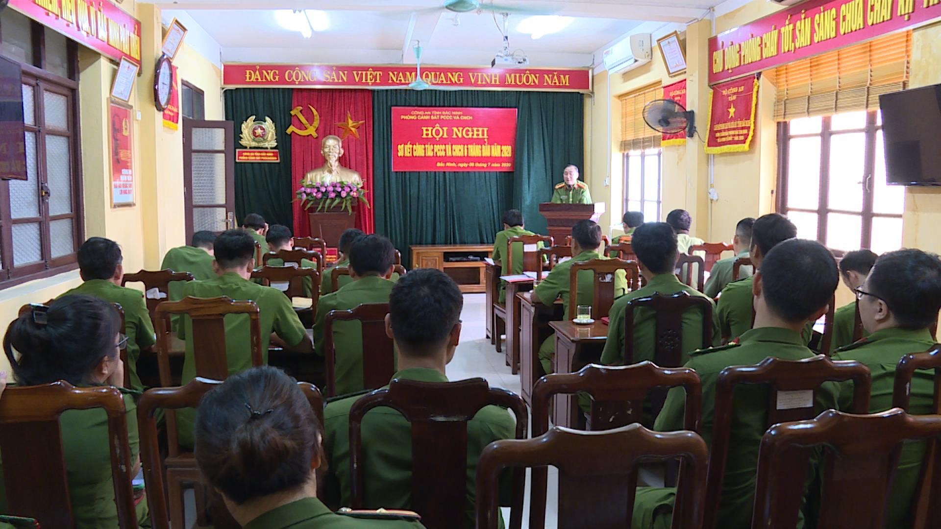 Phòng Cảnh sát PCCC&CNCH sơ kết công tác 6 tháng đầu năm 2020
