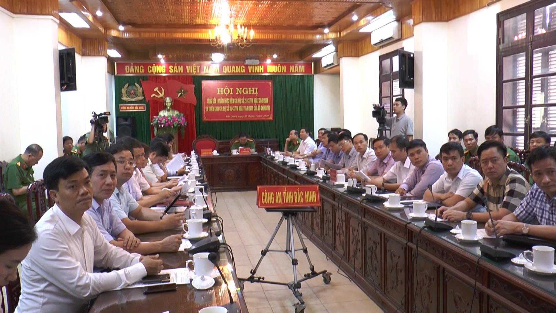 Hội nghị trực tuyến tổng kết 10 năm thực hiện Chỉ thị số 21 của Bộ Chính trị