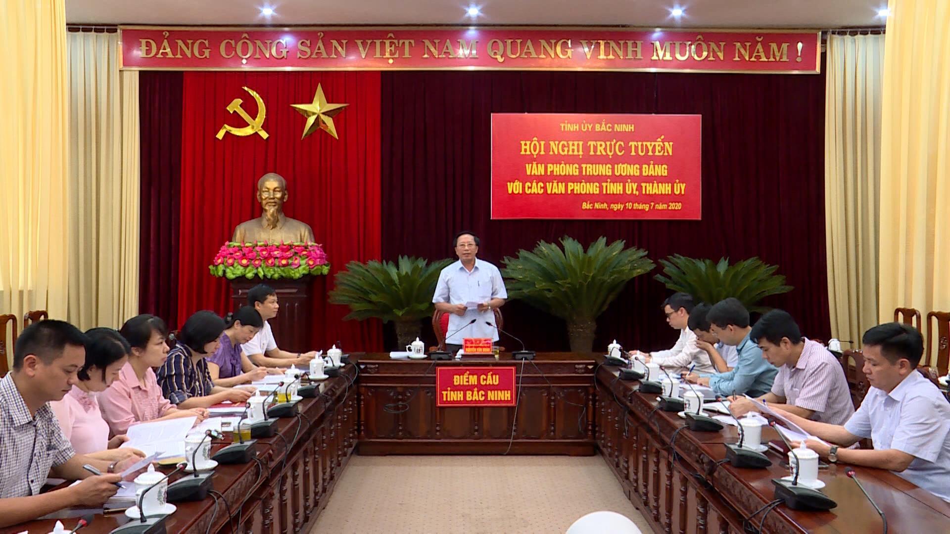Hội nghị giao ban trực tuyến đánh giá kết quả tham mưu thực hiện Chỉ thị số 35 của Bộ Chính trị