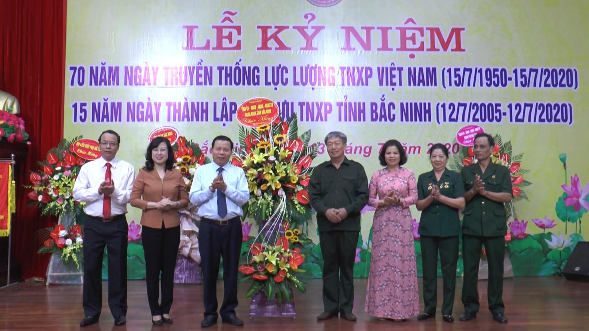 Lễ kỷ niệm 70 năm ngày truyền thống lực lượng thanh niên xung phong