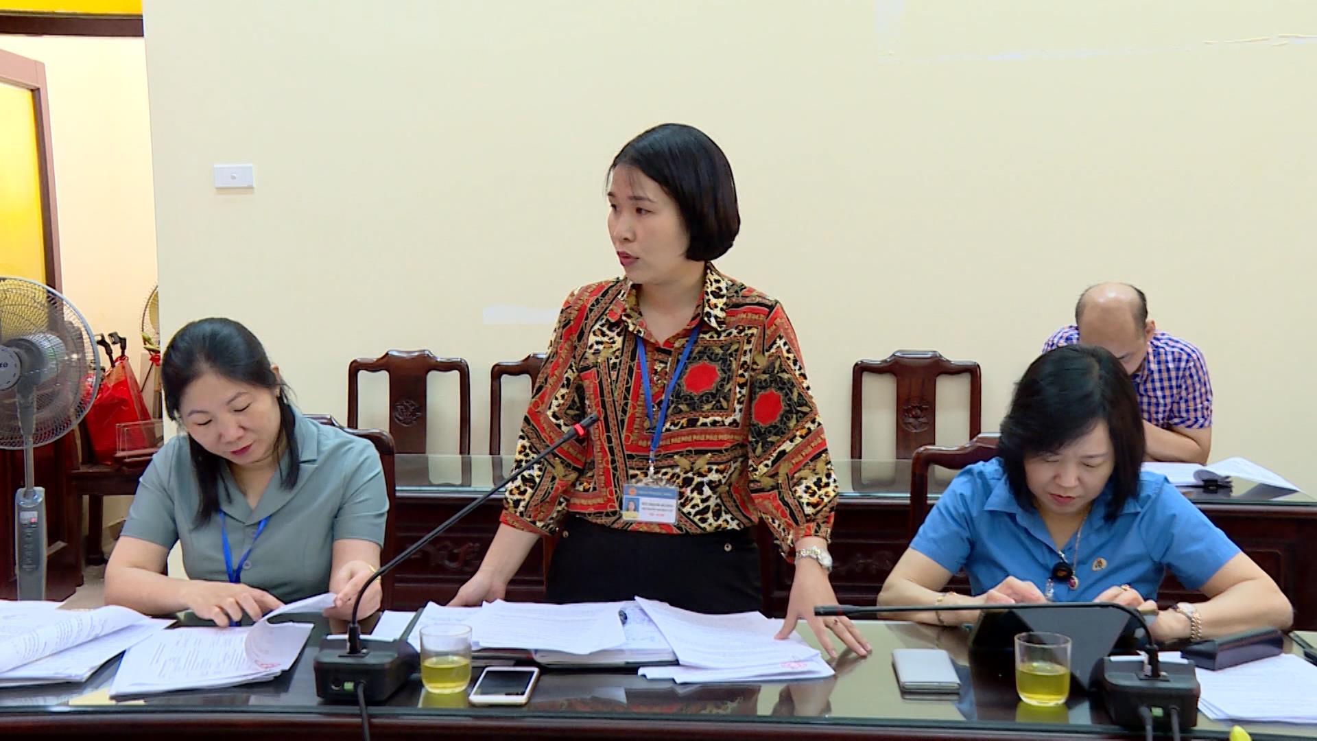 Nâng cao kỹ năng thẩm tra trước kỳ họp của các Ban HĐND tỉnh