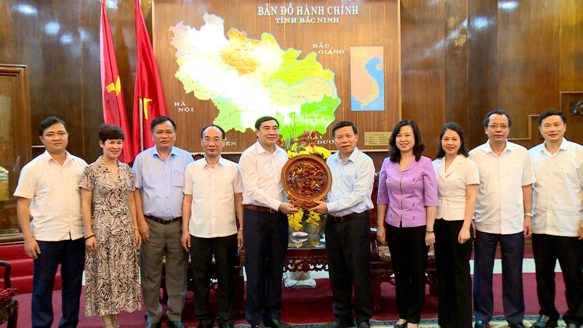 Ban Nội chính Trung ương làm việc với Tỉnh ủy Bắc Ninh