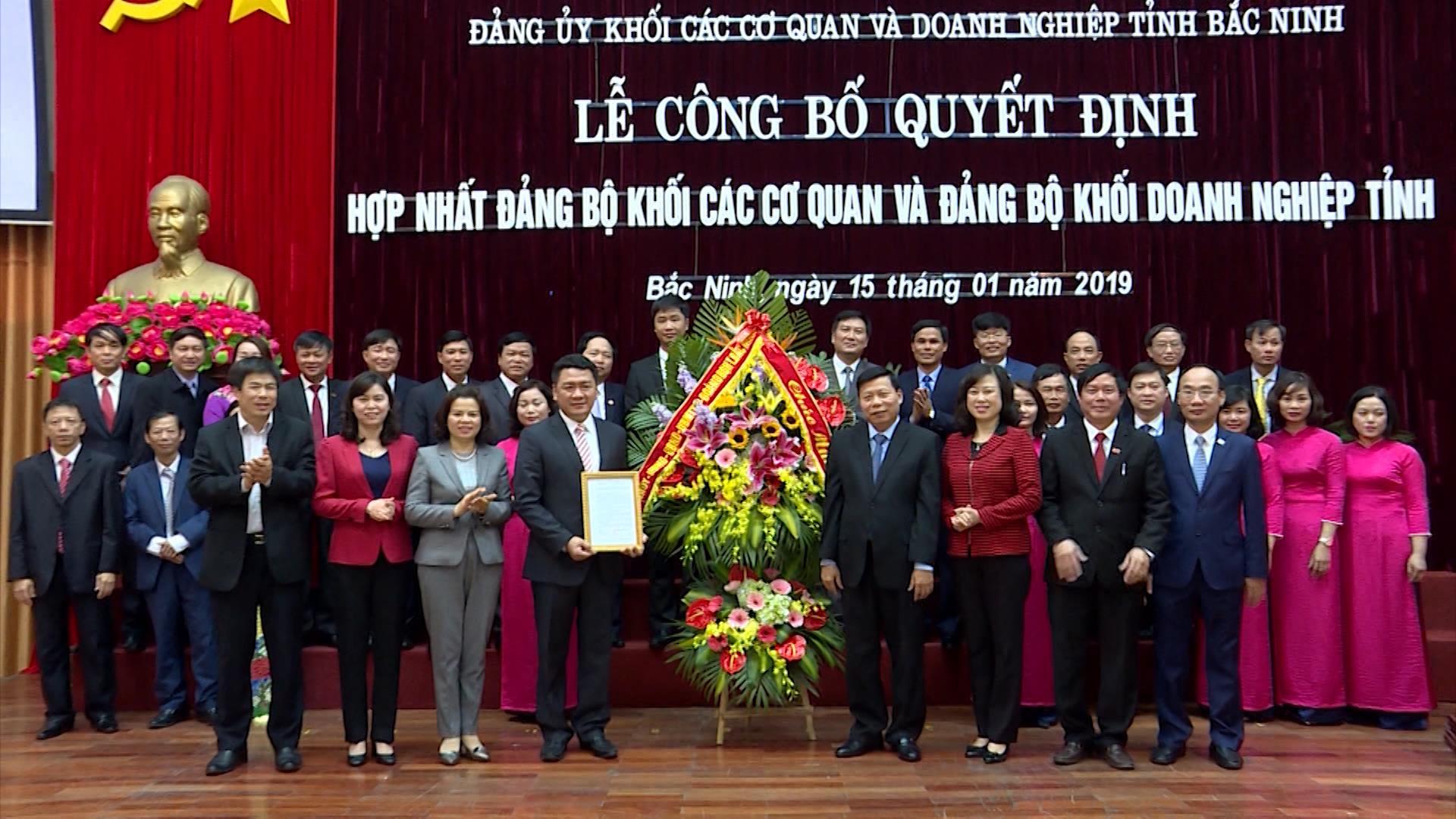 Đảng bộ Khối các cơ quan và Doanh nghiệp tỉnh Đoàn kết – Đổi mới – Hợp nhất và Phát triển