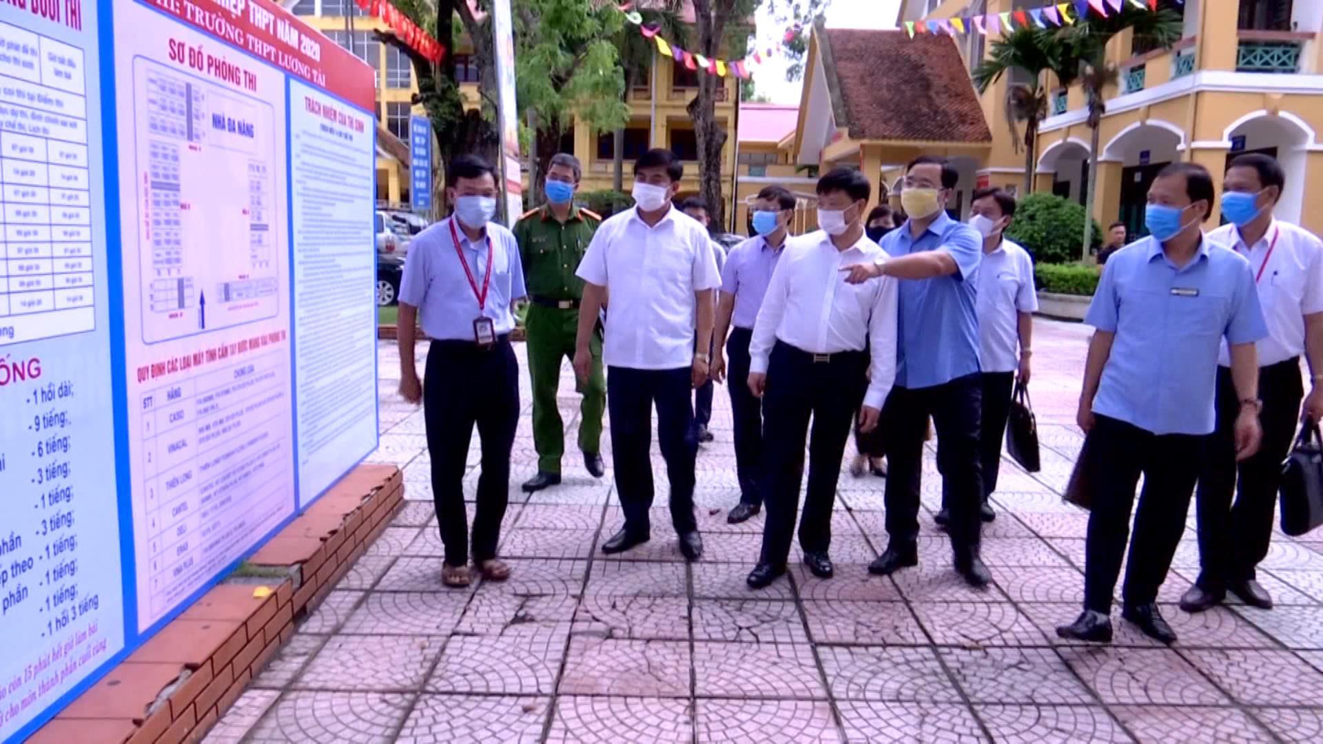 Bắc Ninh sẵn sàng các kịch bản cho kỳ thi tốt nghiệp Trung học Phổ thông