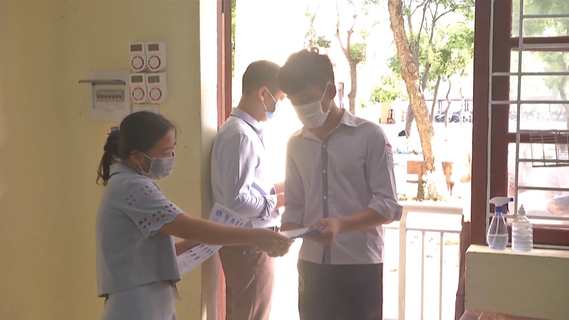 Bắc Ninh tổ chức thi lại cho 7 thí sinh do giám thị sai sót cá nhân