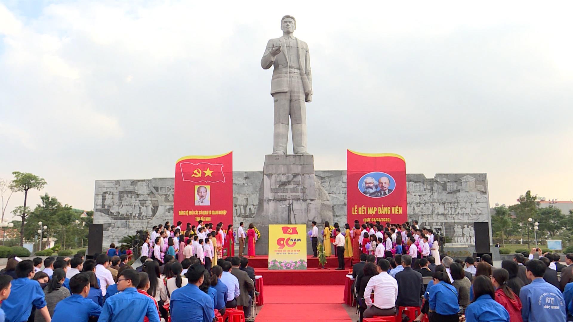 Lớp Đảng viên trẻ trước vận hội của Đại hội