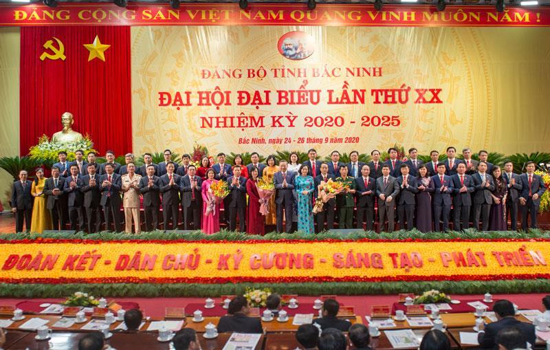 Ra mắt Ban Chấp hành Đảng bộ tỉnh Bắc Ninh khóa XX