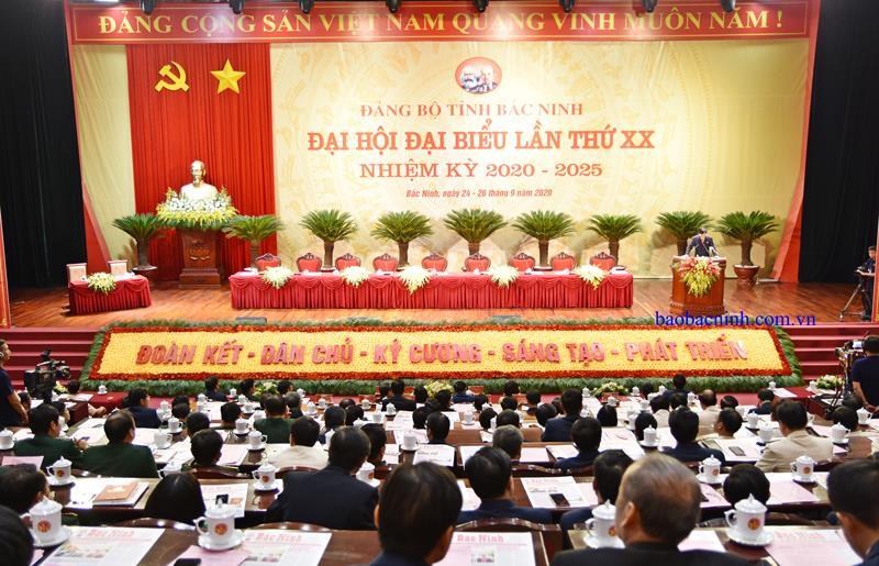 Các chỉ tiêu cơ bản Nghị quyết Đại hội Đảng bộ tỉnh Bắc Ninh lần thứ XX