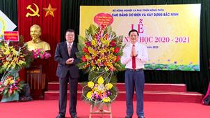 Trường Cao đẳng Cơ điện và xây dựng Bắc Ninh khai giảng năm học mới