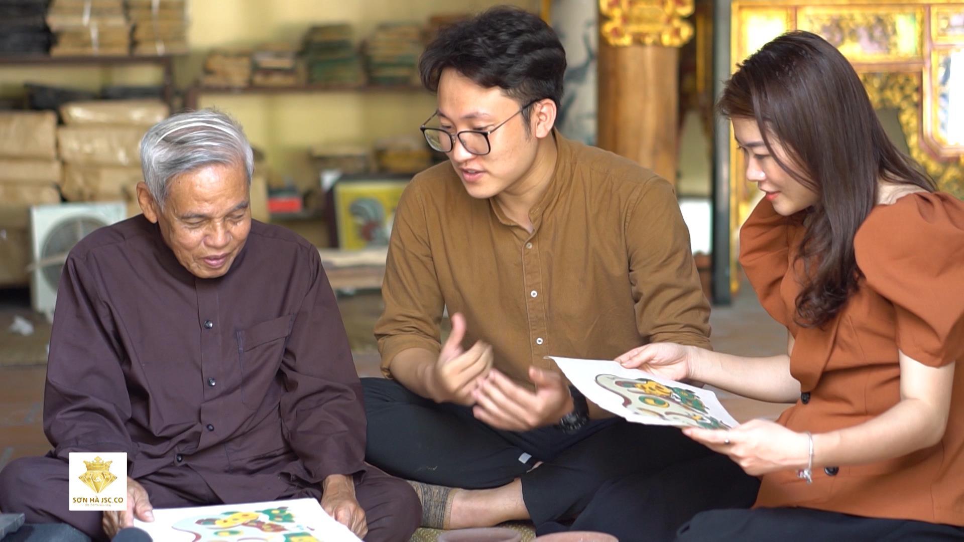 Thăm nghề làm Tranh dân gian Đông Hồ
