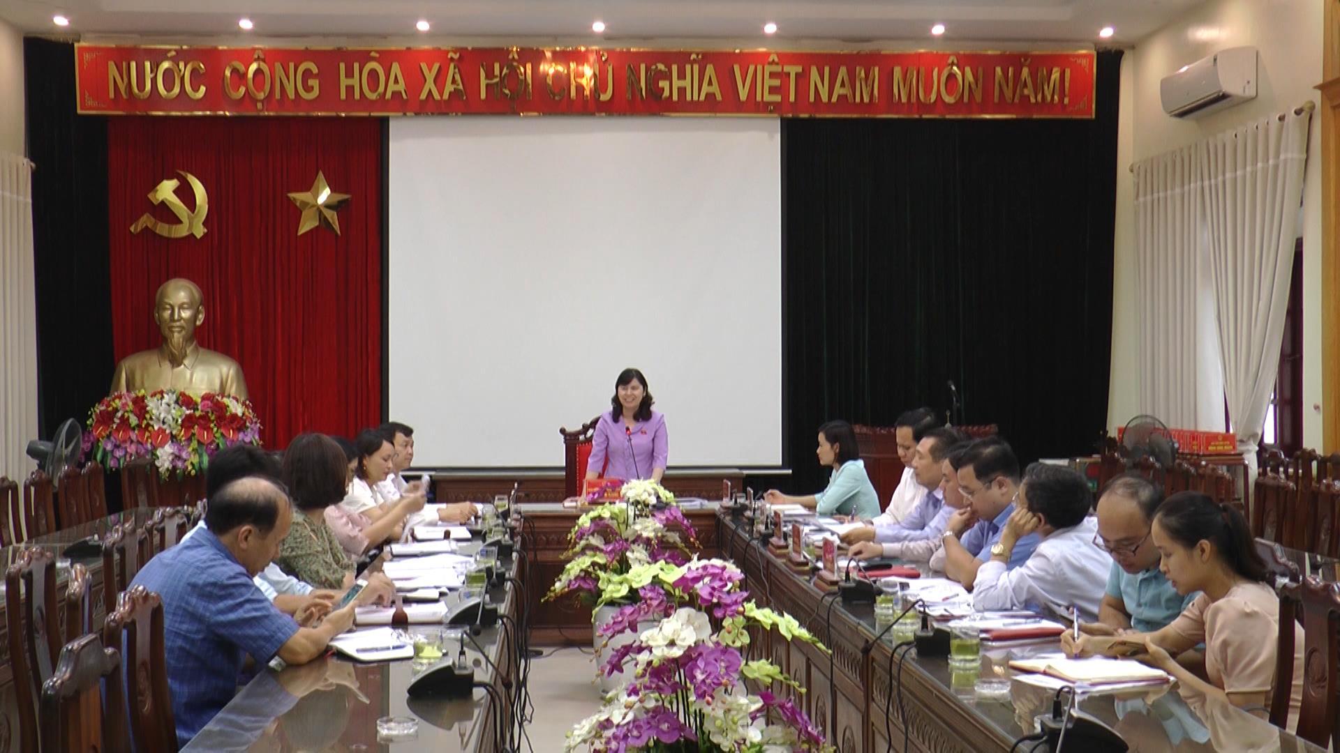 Đoàn ĐBQH tỉnh Bắc Ninh giám sát việc thực hiện Nghị quyết số 88  và 51 của Quốc hội tại huyện Gia Bình