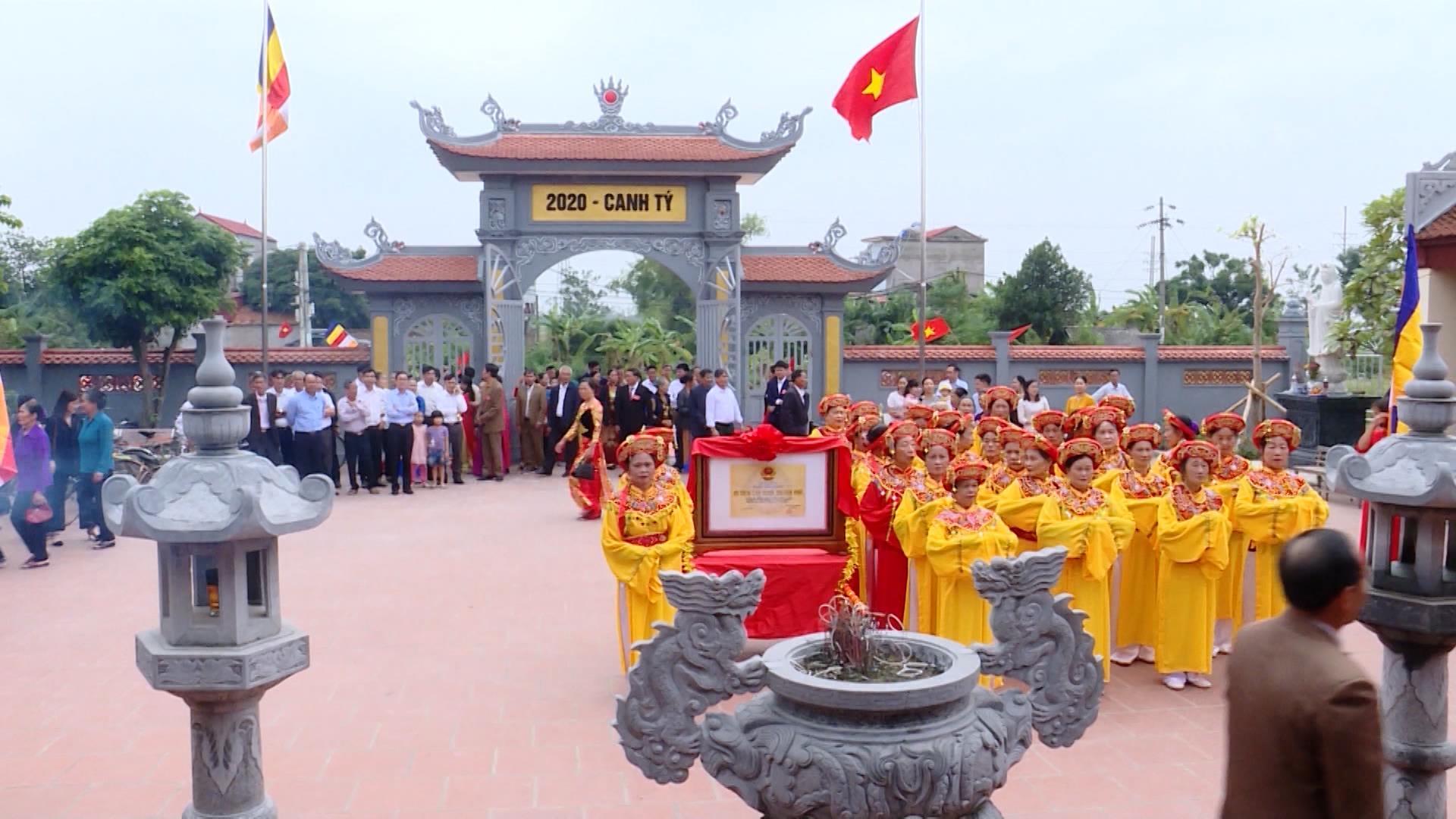 Nét đẹp chùa làng Phương Triện