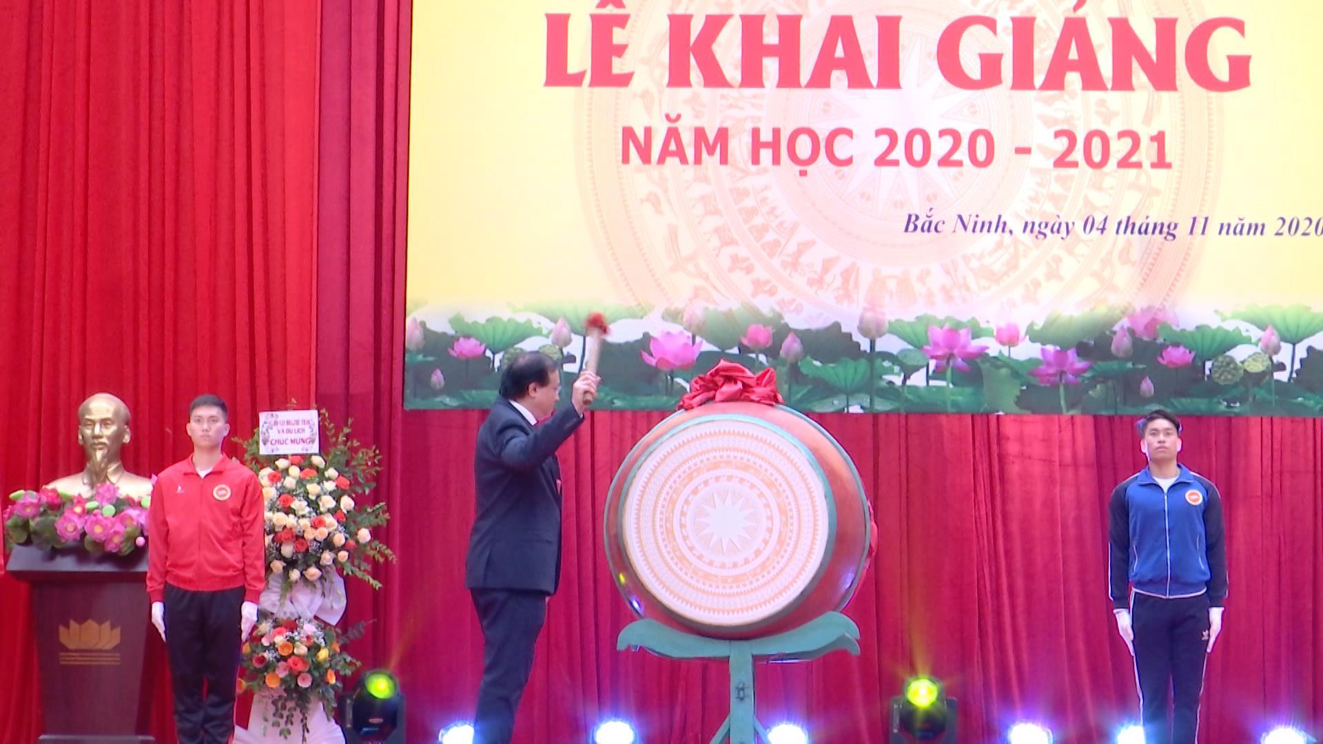 Trường Đại học TDTT Bắc Ninh khai giảng năm học mới