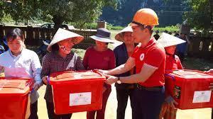 Hội Chữ Thập đỏ tỉnh tổ chức chuyến đi thứ 2 ủng hộ miền Trung