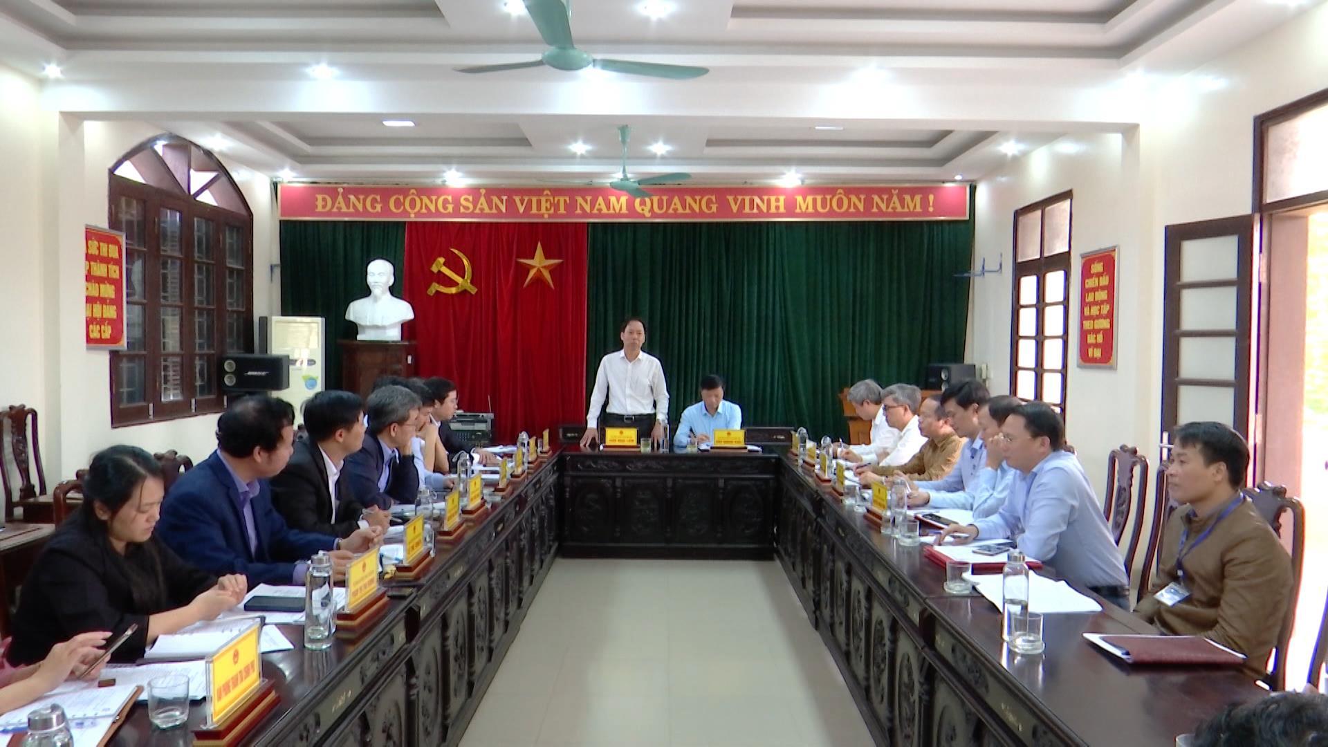 Đoàn Công tác Tổng Thanh tra Chính phủ làm việc tại Bắc Ninh