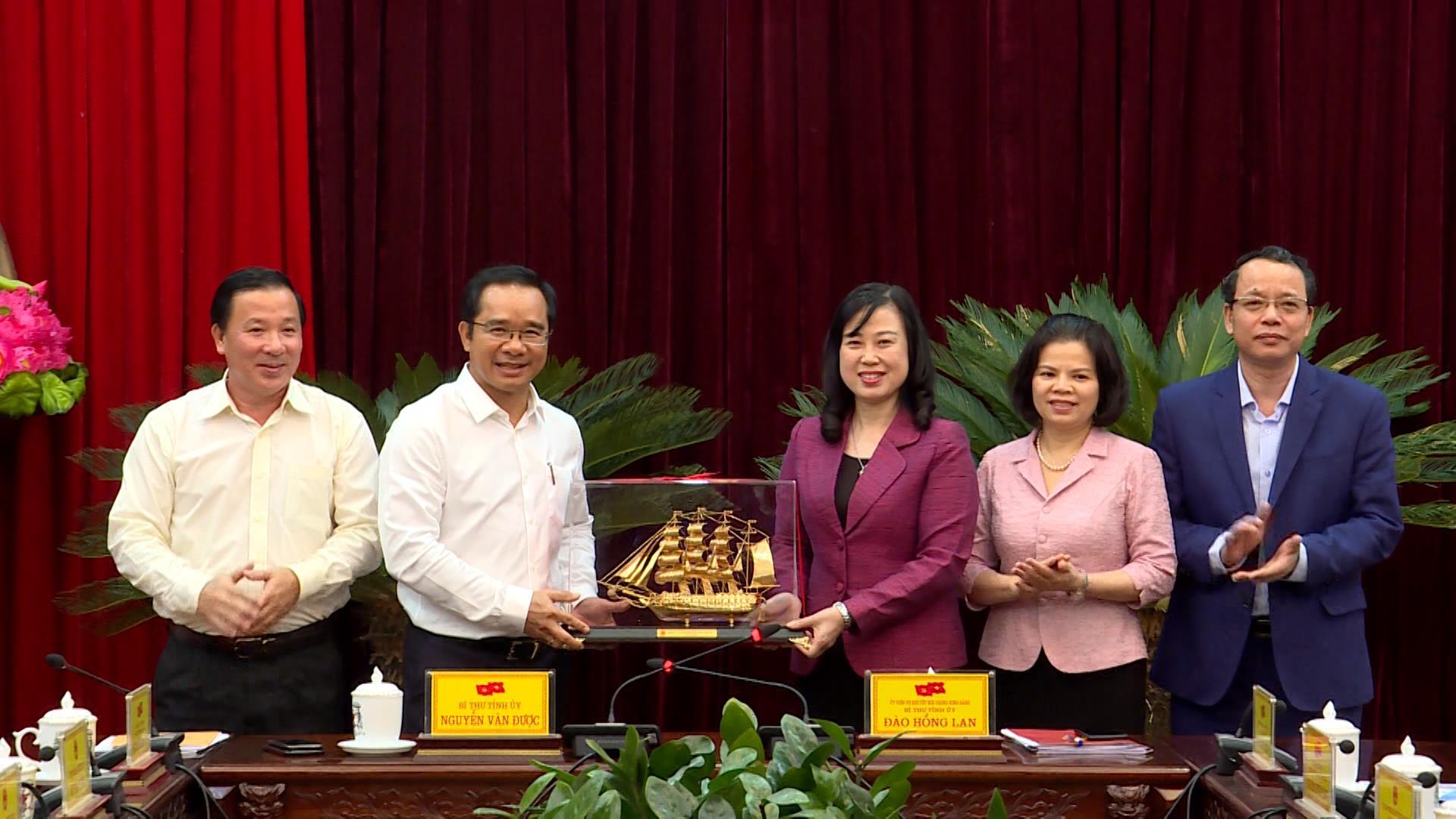 Đoàn công tác tỉnh Long An thăm và làm việc tại Bắc Ninh