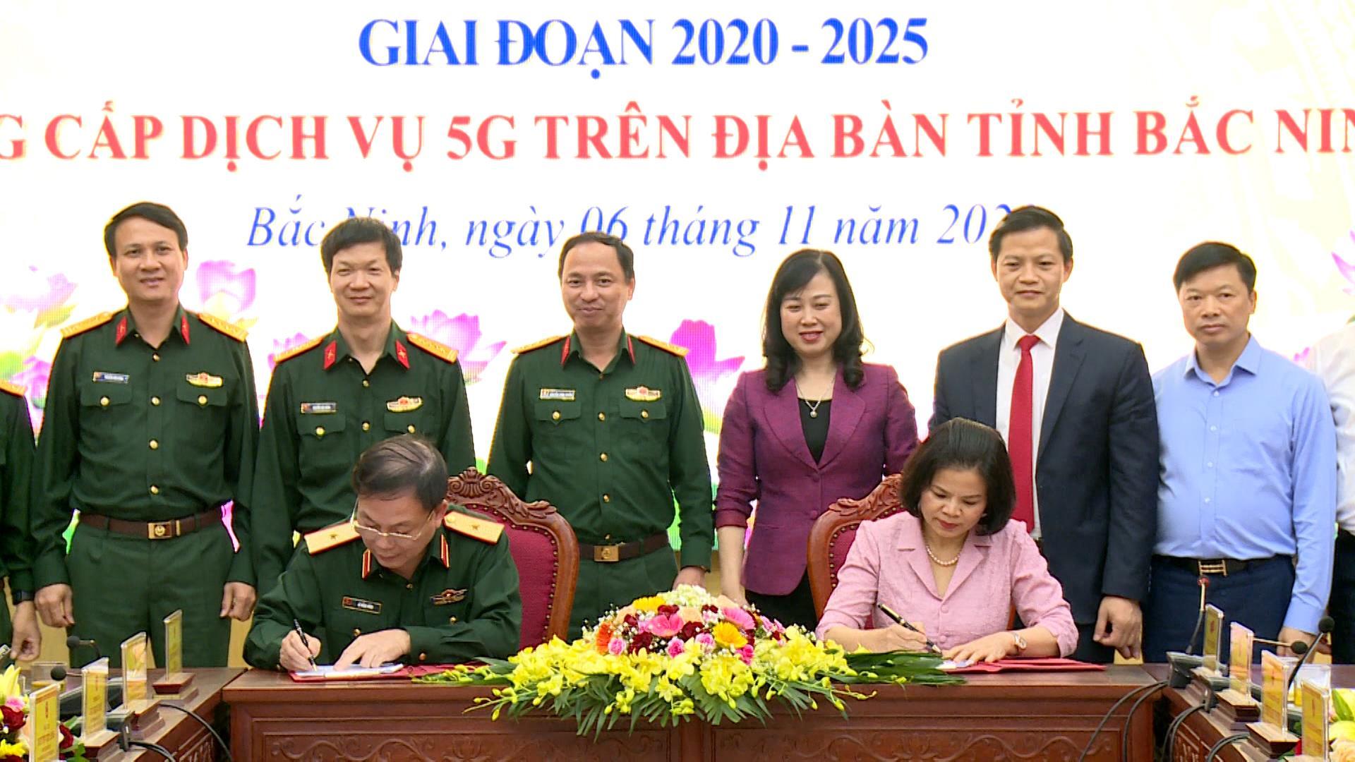 Ký kết hợp tác xây dựng chính quyền điện tử giữa Tập đoàn Viettel và UBND tỉnh Bắc Ninh