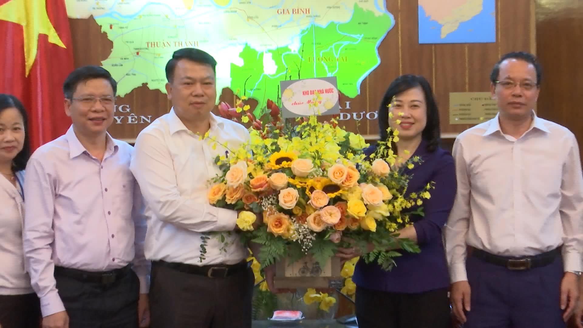 Bí thư Tỉnh ủy tiếp Tổng Giám đốc Kho bạc nhà nước Việt Nam