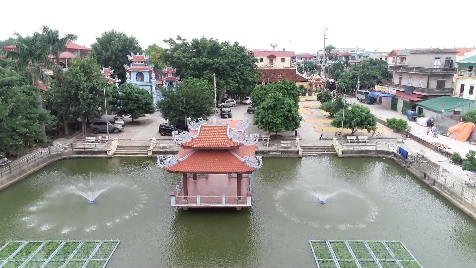 Độc đáo di tích đình làng Hoài Trung