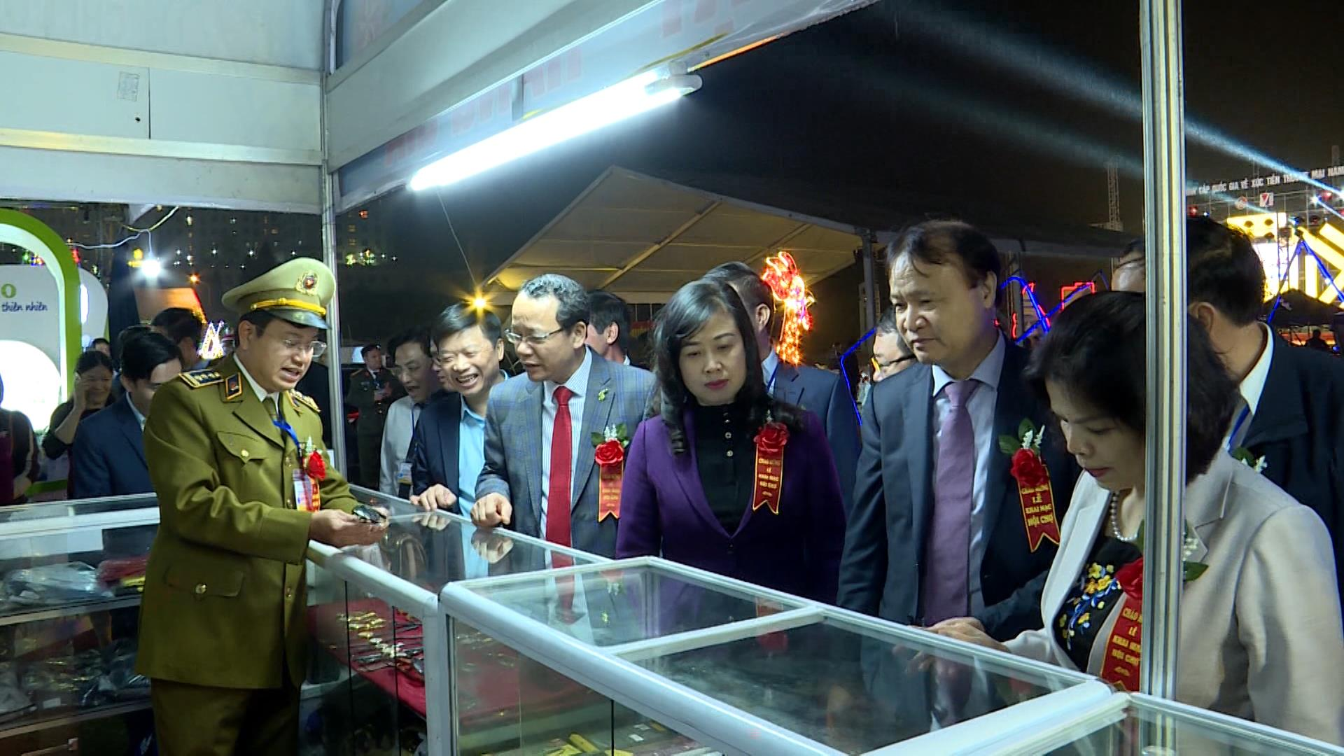 Khai mạc Hội chợ Công nghiệp hỗ trợ và sản phẩm OCOP  khu vực Đồng bằng Sông Hồng năm 2020