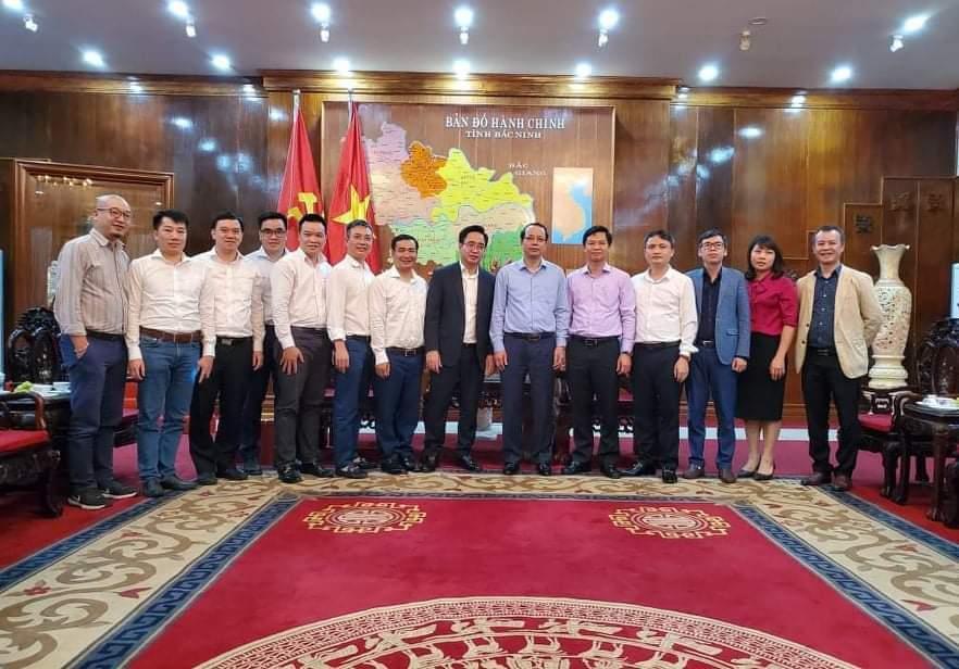 Lãnh đạo tỉnh tiếp Câu lạc bộ Báo chí Bắc Ninh tại Hà Nội