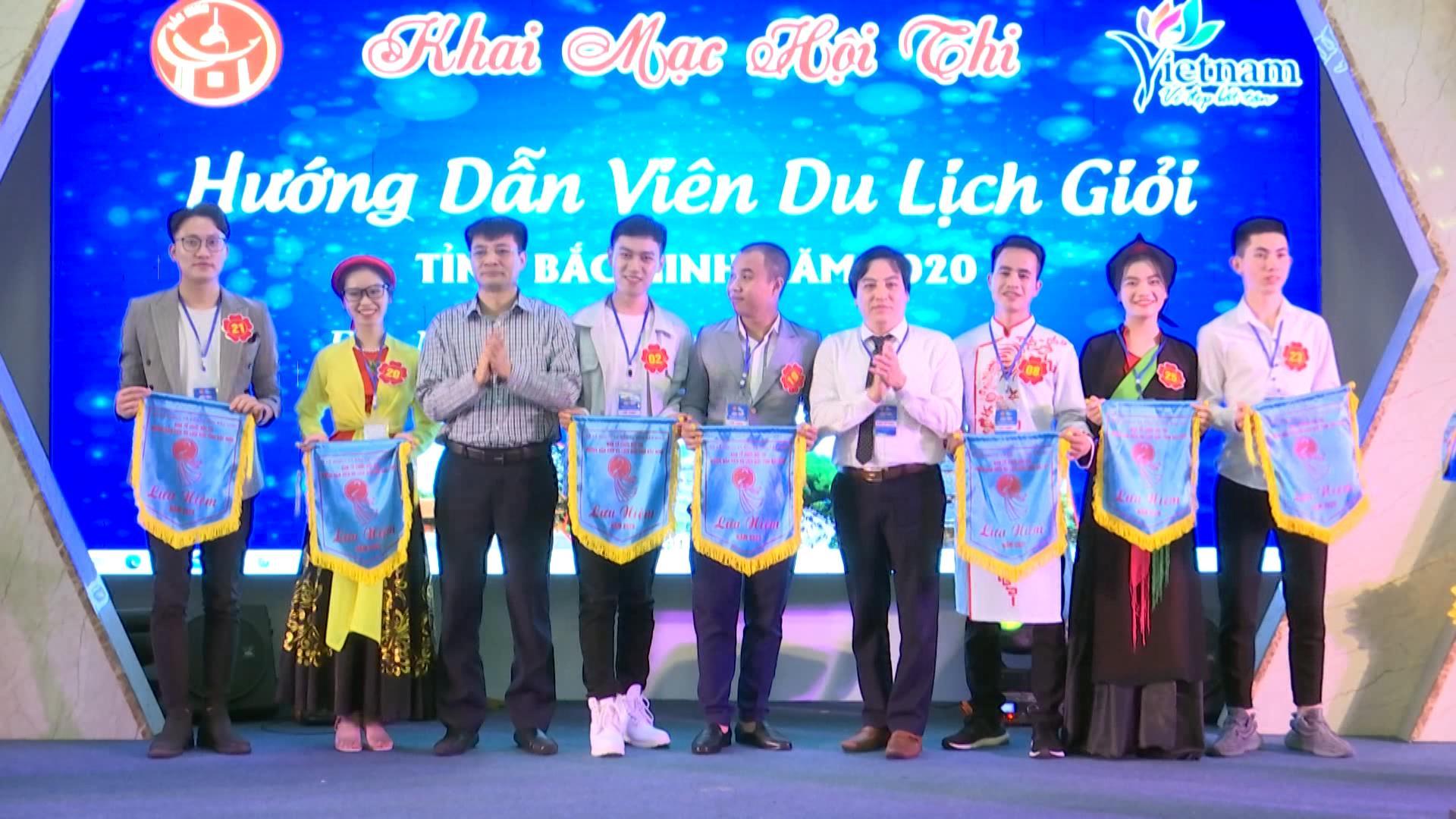 """Hội thi """"Hướng dẫn viên du lịch giỏi tỉnh Bắc Ninh"""" năm 2020"""