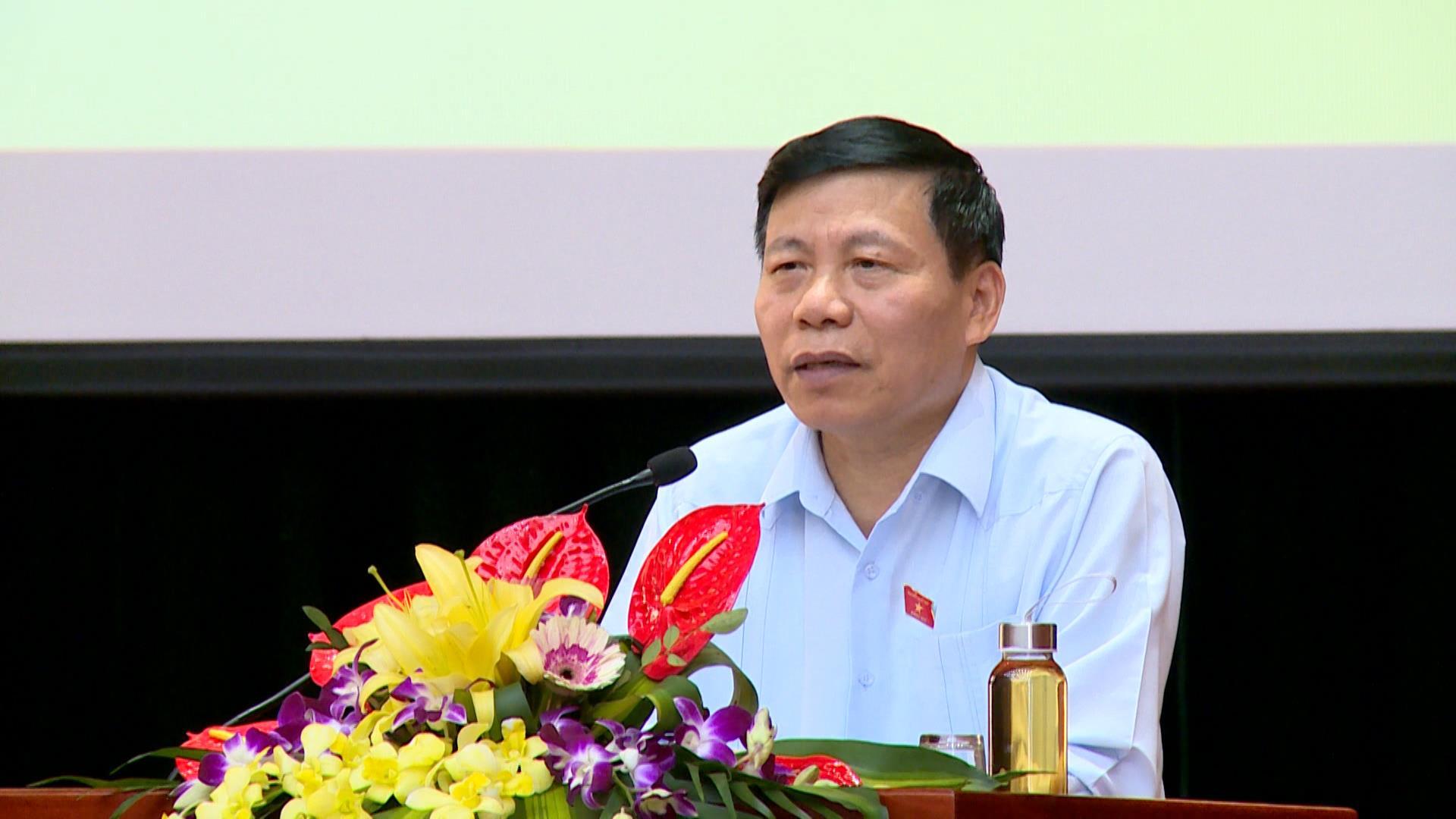 Đoàn Đại biểu Quốc hội tỉnh tiếp xúc cử tri huyện Yên Phong