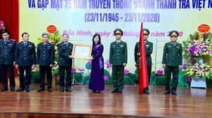 Thanh tra tỉnh đón nhận Huân chương Độc lập hạng Ba