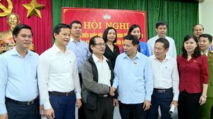 Đoàn Đại biểu Quốc hội tỉnh tiếp xúc cử tri tại Từ Sơn