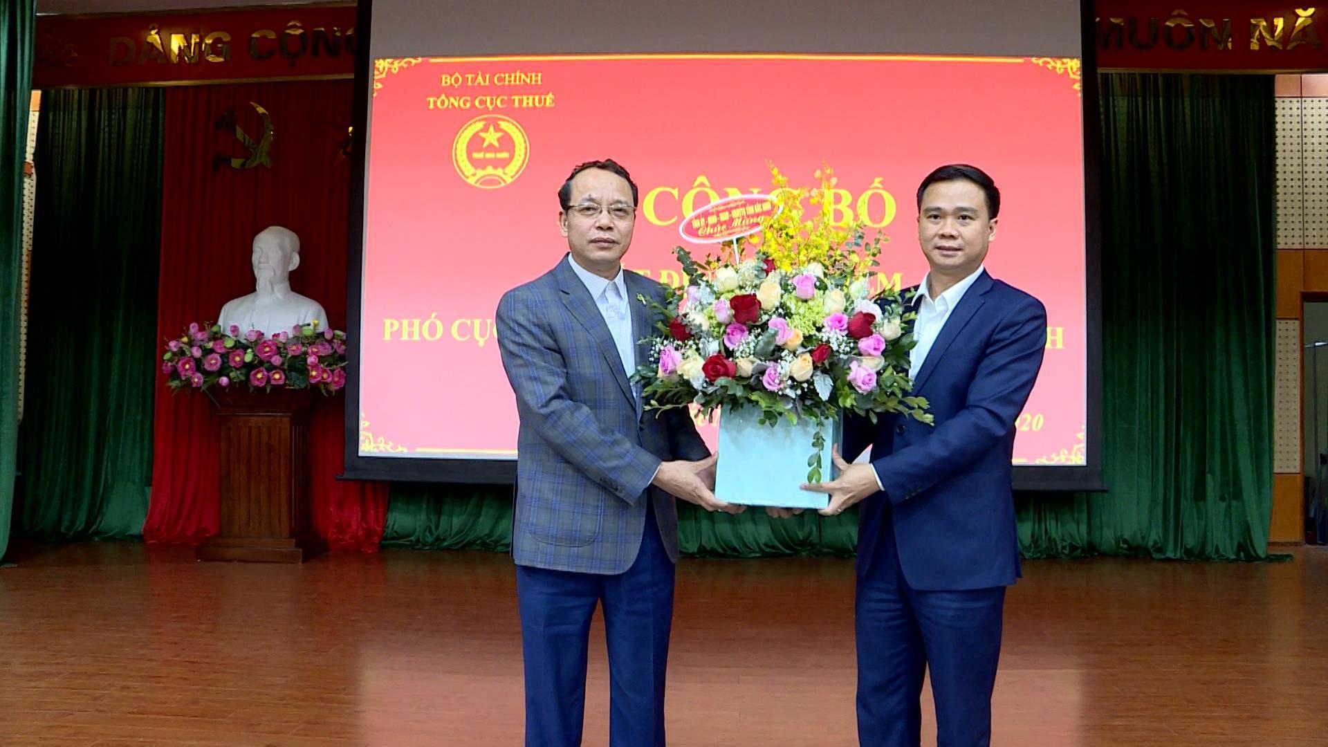 Công bố Quyết định bổ nhiệm Phó Cục trưởng Cục Thuế tỉnh Bắc Ninh