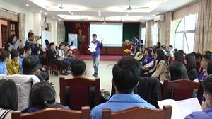 """Tập huấn """"Kỹ năng lãnh đạo và Công dân toàn cầu cho thanh niên"""""""