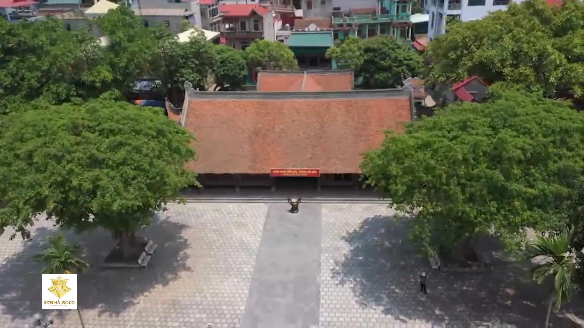 Thăm khu di tích Đình Đình Bảng