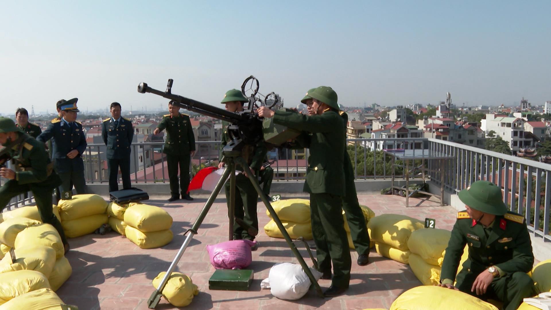Cục Phòng không lục quân kiểm tra tại Bộ CHQS tỉnh Bắc Ninh