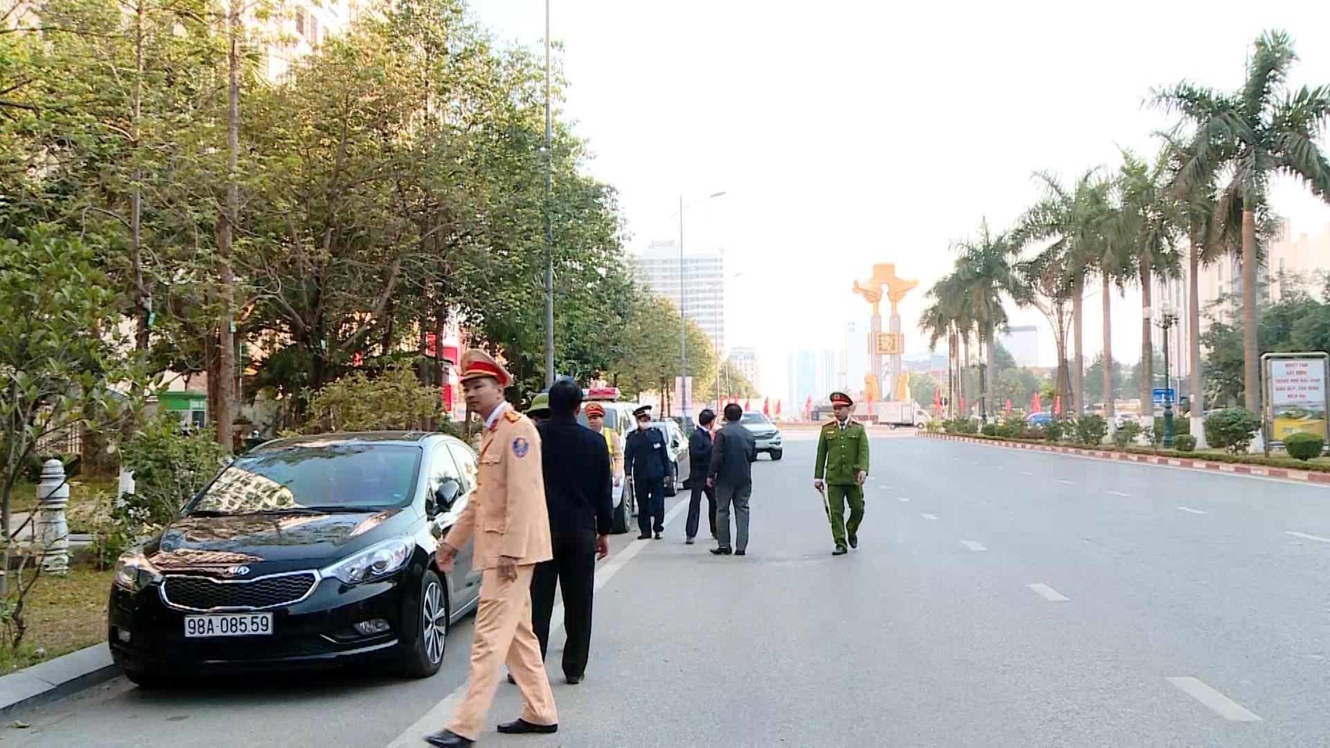 Thành phố Bắc Ninh ra quân cao điểm  xử lý phương tiện vi phạm đỗ, dừng sai quy định