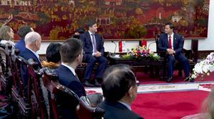 Tiếp xã giao đoàn công tác Đại sứ quán Cộng hòa Ba Lan tại Việt Nam