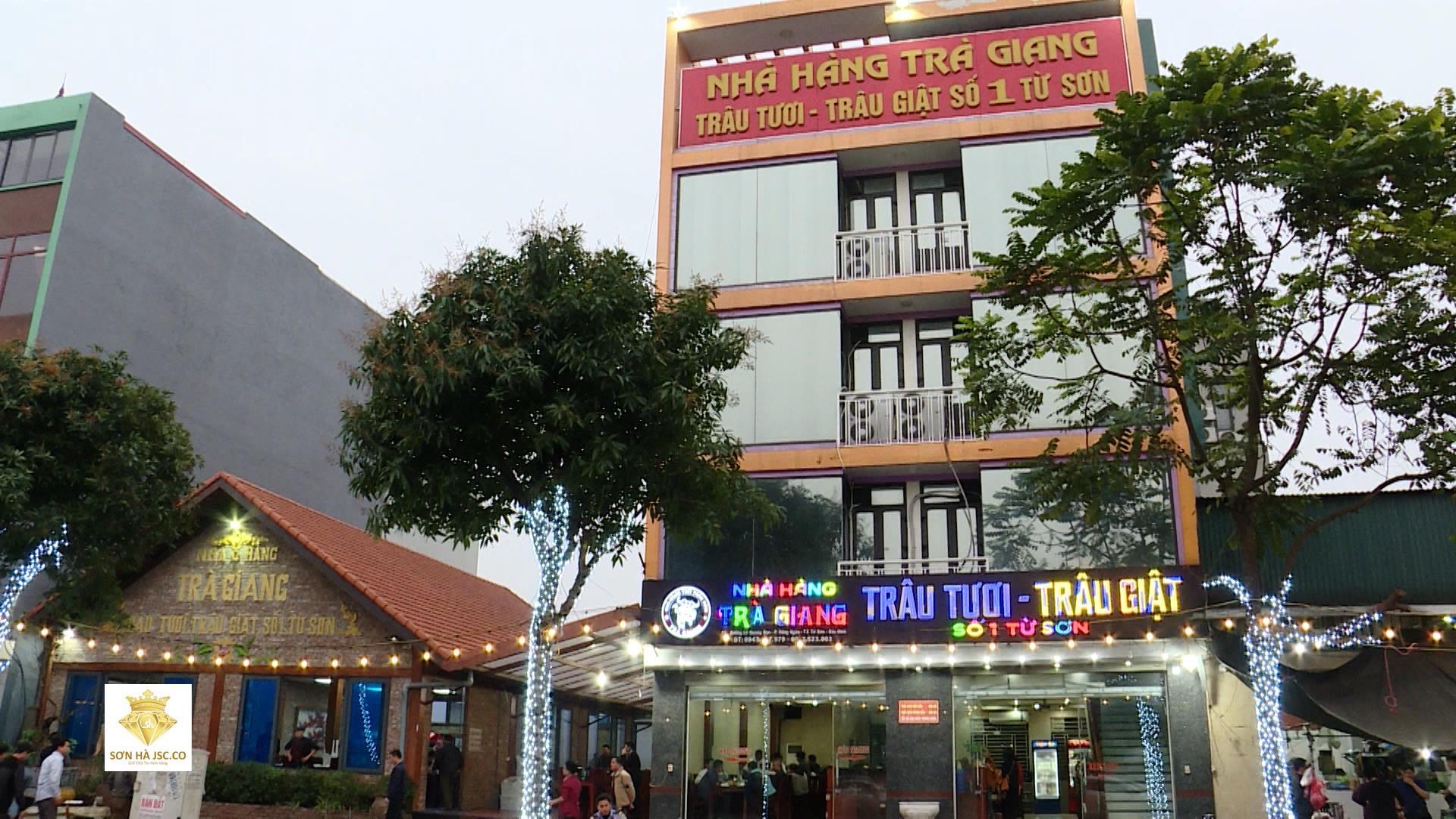 Nhà hàng Trâu giật Trà Giang